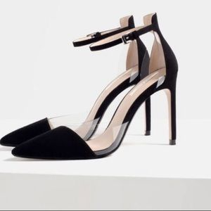 women's Zara Black Heels